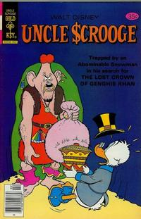 Cover Thumbnail for Uncle Scrooge (Western, 1963 series) #161 [Gold Key]