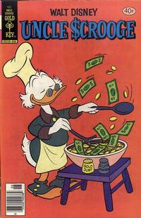 Cover Thumbnail for Uncle Scrooge (Western, 1963 series) #165 [Gold Key Variant]