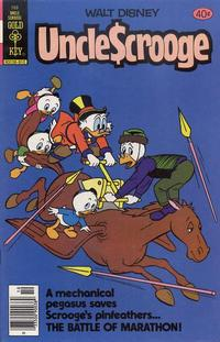 Cover Thumbnail for Uncle Scrooge (Western, 1963 series) #169 [Gold Key Variant]
