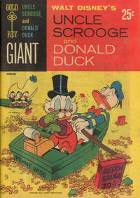 Cover Thumbnail for Walt Disney's Uncle Scrooge and Donald Duck (Western, 1965 series) #1