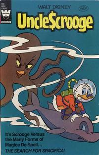Cover Thumbnail for Uncle Scrooge (Western, 1963 series) #193 [White Whitman Logo]