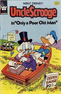 Cover Thumbnail for Uncle Scrooge (Western, 1963 series) #195 [White Whitman Logo]