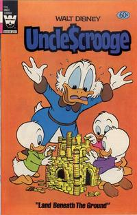 Cover Thumbnail for Uncle Scrooge (Western, 1963 series) #196 [White Whitman Logo]