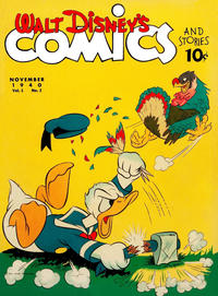 Cover Thumbnail for Walt Disney's Comics and Stories (Dell, 1940 series) #v1#2 [2]