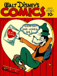 Cover for Walt Disney's Comics and Stories (Dell, 1940 series) #v1#5 [5] [Star Variant]