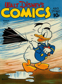 Cover Thumbnail for Walt Disney's Comics and Stories (Dell, 1940 series) #v1#6 [6]