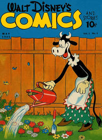 Cover Thumbnail for Walt Disney's Comics and Stories (Dell, 1940 series) #v1#8 [8]