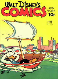 Cover Thumbnail for Walt Disney's Comics and Stories (Dell, 1940 series) #v1#9 [9]