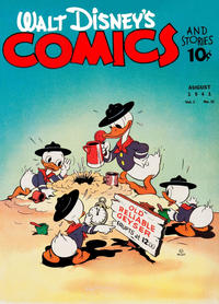 Cover Thumbnail for Walt Disney's Comics and Stories (Dell, 1940 series) #v1#11 [11]