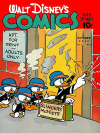 Cover for Walt Disney's Comics and Stories (Dell, 1940 series) #v2#1 [13]