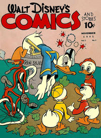 Cover Thumbnail for Walt Disney's Comics and Stories (Dell, 1940 series) #v2#2 [14]