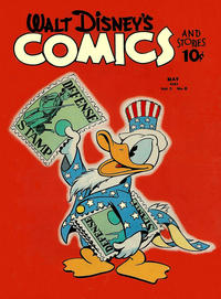 Cover Thumbnail for Walt Disney's Comics and Stories (Dell, 1940 series) #v2#8 [20]