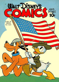 Cover Thumbnail for Walt Disney's Comics and Stories (Dell, 1940 series) #v2#10 (22)