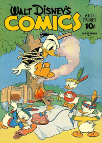 Cover Thumbnail for Walt Disney's Comics and Stories (Dell, 1940 series) #v2#12 (24)