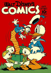 Cover Thumbnail for Walt Disney's Comics and Stories (Dell, 1940 series) #v3#3 (27)