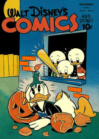 Cover Thumbnail for Walt Disney's Comics and Stories (Dell, 1940 series) #v4#2 (38)
