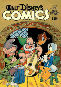 Cover Thumbnail for Walt Disney's Comics and Stories (Dell, 1940 series) #v4#9 (45)
