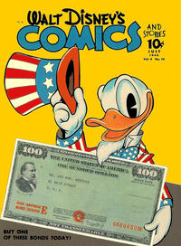 Cover Thumbnail for Walt Disney's Comics and Stories (Dell, 1940 series) #v4#10 (46)