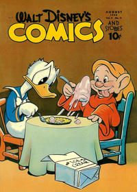 Cover Thumbnail for Walt Disney's Comics and Stories (Dell, 1940 series) #v4#11 (47)