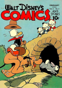 Cover Thumbnail for Walt Disney's Comics and Stories (Dell, 1940 series) #v5#5 (53)