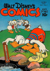 Cover Thumbnail for Walt Disney's Comics and Stories (Dell, 1940 series) #v5#9 (57)