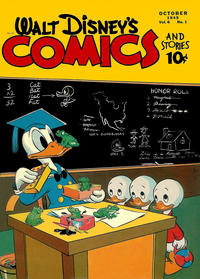 Cover Thumbnail for Walt Disney's Comics and Stories (Dell, 1940 series) #v6#1 (61)