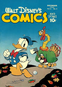 Cover Thumbnail for Walt Disney's Comics and Stories (Dell, 1940 series) #v6#3 (63)