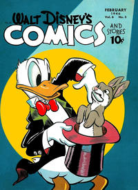 Cover Thumbnail for Walt Disney's Comics and Stories (Dell, 1940 series) #v6#5 (65)
