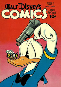 Cover Thumbnail for Walt Disney's Comics and Stories (Dell, 1940 series) #v6#9 (69)