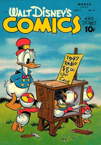 Cover Thumbnail for Walt Disney's Comics and Stories (Dell, 1940 series) #v7#6 (78)