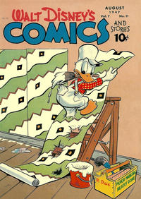 Cover Thumbnail for Walt Disney's Comics and Stories (Dell, 1940 series) #v7#11 (83)