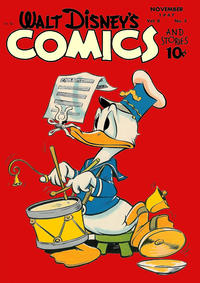 Cover Thumbnail for Walt Disney's Comics and Stories (Dell, 1940 series) #v8#2 (86)