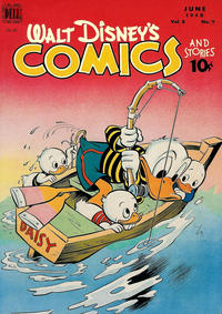 Cover Thumbnail for Walt Disney's Comics and Stories (Dell, 1940 series) #v8#9 (93)