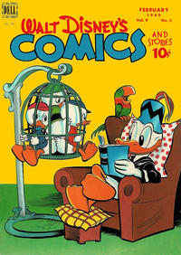 Cover Thumbnail for Walt Disney's Comics and Stories (Dell, 1940 series) #v9#5 (101)