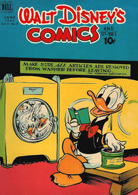 Cover for Walt Disney's Comics and Stories (Dell, 1940 series) #v9#9 (105)