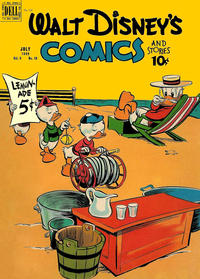 Cover Thumbnail for Walt Disney's Comics and Stories (Dell, 1940 series) #v9#10 (106)