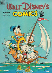 Cover Thumbnail for Walt Disney's Comics and Stories (Dell, 1940 series) #v9#12 (108)