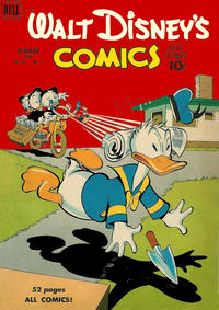 Cover Thumbnail for Walt Disney's Comics and Stories (Dell, 1940 series) #v10#1 (109)