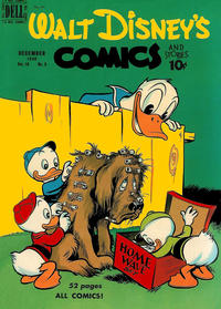 Cover Thumbnail for Walt Disney's Comics and Stories (Dell, 1940 series) #v10#3 (111)