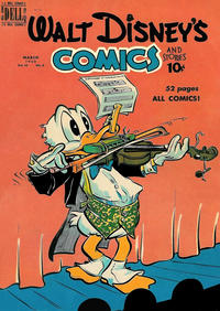 Cover Thumbnail for Walt Disney's Comics and Stories (Dell, 1940 series) #v10#6 (114)