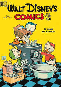 Cover Thumbnail for Walt Disney's Comics and Stories (Dell, 1940 series) #v10#8 (116)