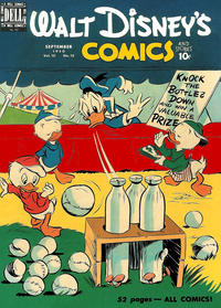 Cover Thumbnail for Walt Disney's Comics and Stories (Dell, 1940 series) #v10#12 (120)