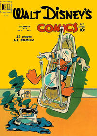 Cover Thumbnail for Walt Disney's Comics and Stories (Dell, 1940 series) #v11#3 (123)