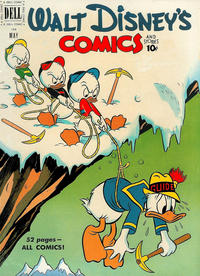 Cover Thumbnail for Walt Disney's Comics and Stories (Dell, 1940 series) #v11#8 (128)