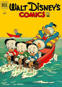Cover Thumbnail for Walt Disney's Comics and Stories (Dell, 1940 series) #v11#10 (130)