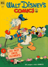 Cover Thumbnail for Walt Disney's Comics and Stories (Dell, 1940 series) #v11#12 (132)