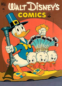 Cover Thumbnail for Walt Disney's Comics and Stories (Dell, 1940 series) #v12#3 (135)