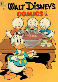 Cover Thumbnail for Walt Disney's Comics and Stories (Dell, 1940 series) #v12#4 (136)