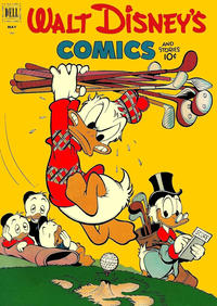 Cover Thumbnail for Walt Disney's Comics and Stories (Dell, 1940 series) #v12#8 (140)