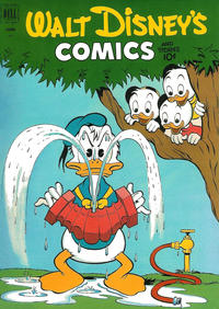Cover Thumbnail for Walt Disney's Comics and Stories (Dell, 1940 series) #v12#9 (141)